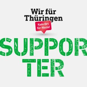 Wir für Thüringen Supporter Logo