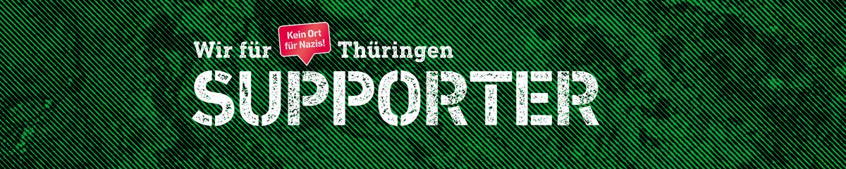 Wir für Thüringen Support